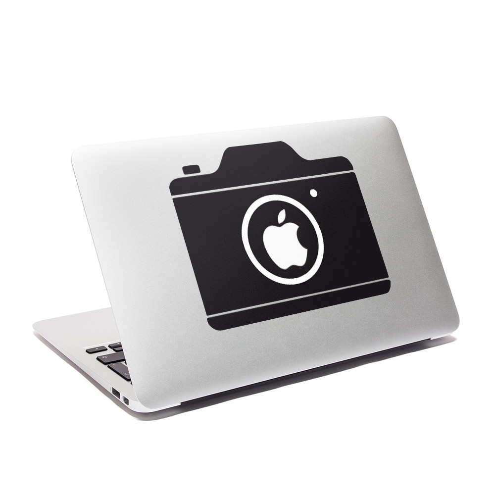 Macbook decal minimal camera by for Camera minimal