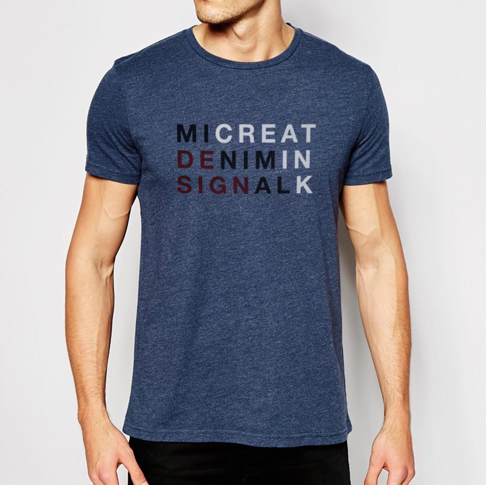 T-shirt design - Minimal Design - Designed by Creatink