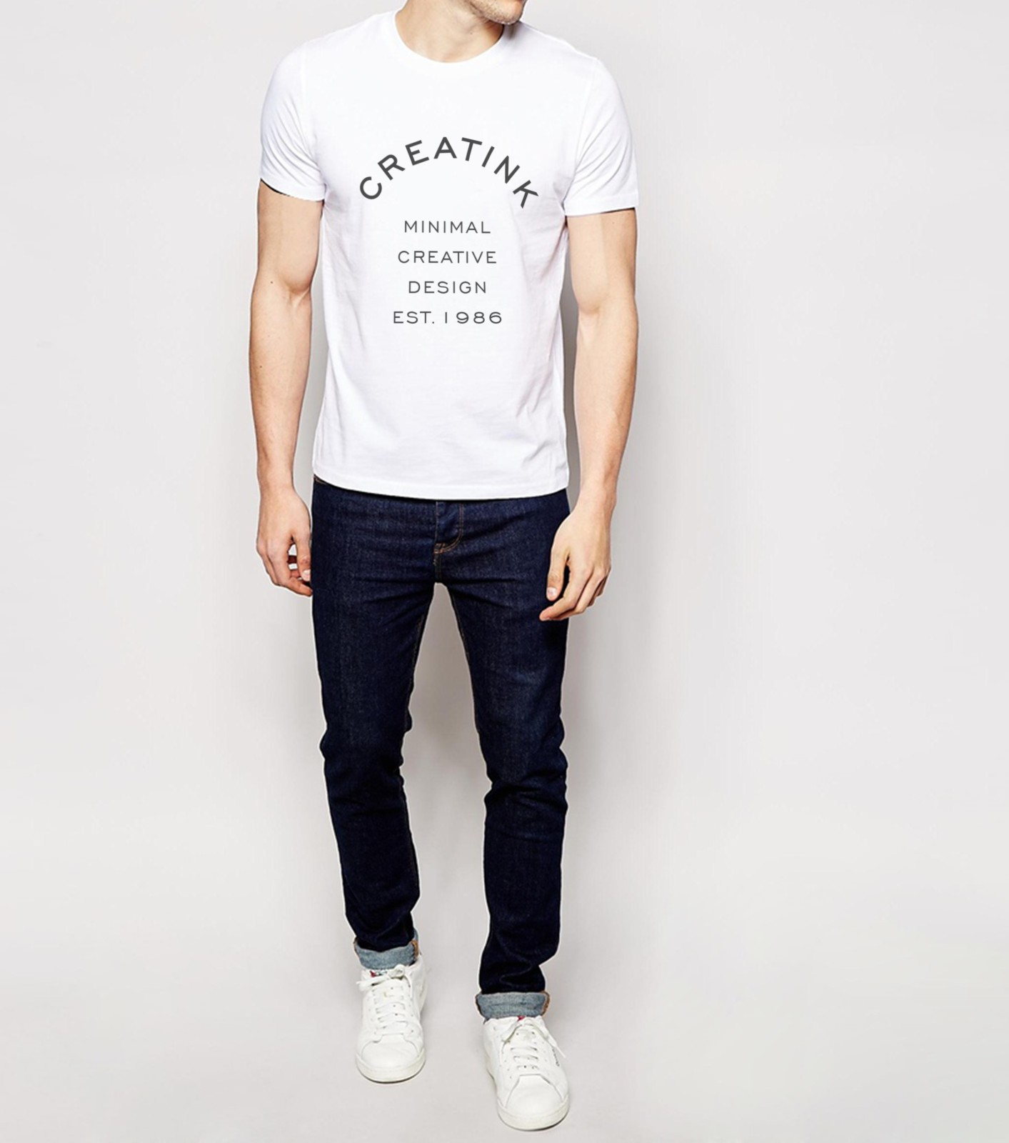 f7b809948eff T-shirt design - Minimalistit - Designed by Creatink